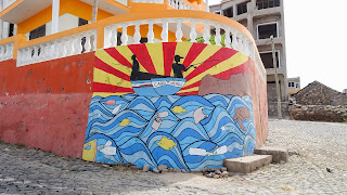 Cape Verde artistic painting