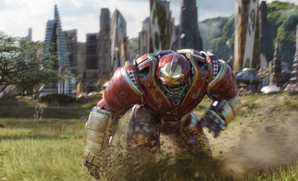 Hulkbuster made an appearance in AVENGERS: INFINITY WAR (2018)