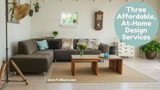 FroBunni: 3 Affordable, At-Home Design Services