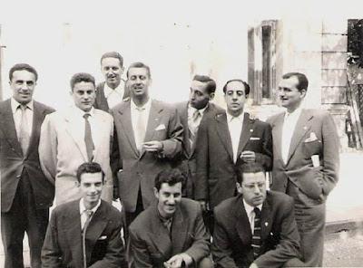 Ajedrecistas protagonistas del ajedrez cántabro a mitad del siglo XX