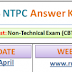 RRB NTPC (CEN 03/2015) Answer Key 2016 Available for All Regions Download Solutions