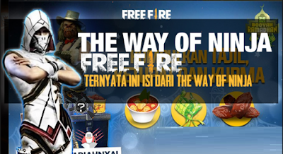 The way of the ninja free fire apa itu? Ini penjelasannya dan hadiahnya