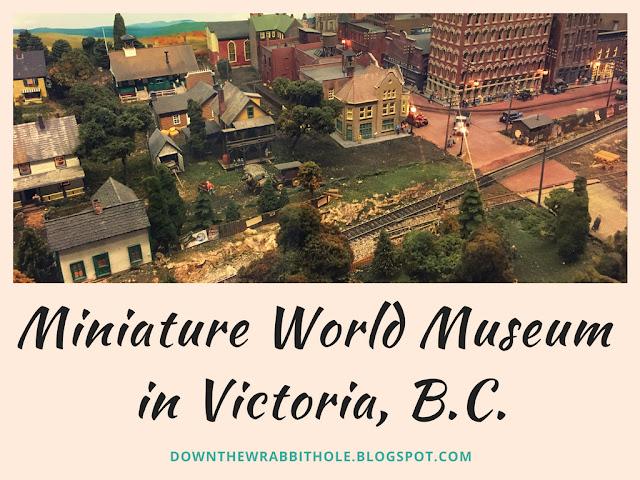 miniature world museum, london model