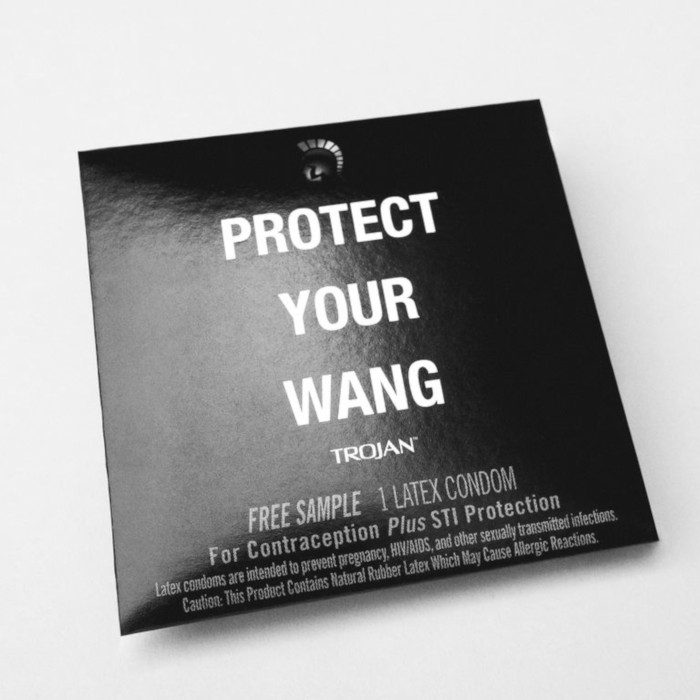 "Alexander Wang & Trojan Condoms Team Up For ""Protect Your Wang"" Capsule"