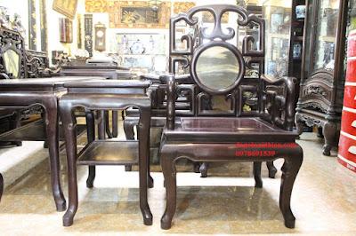 Bán bàn ghế gỗ trắc ta tại Hà Nội