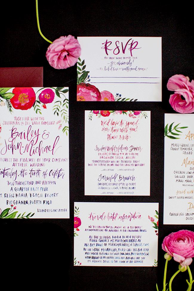 d6ee5b576c3d REAL WEDDINGS: BAILEY & JOHN-MICHAEL BAHIA BEACH, PUERTO RICO