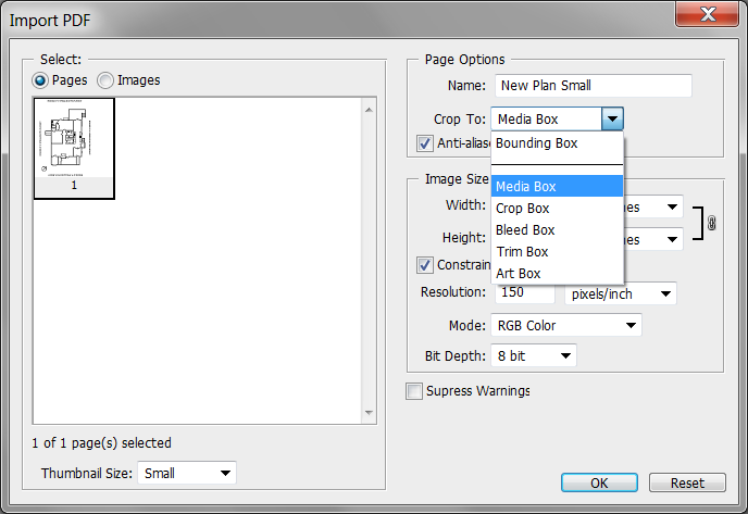 114234 – Dialog for the inserting/opening of images/pdfs