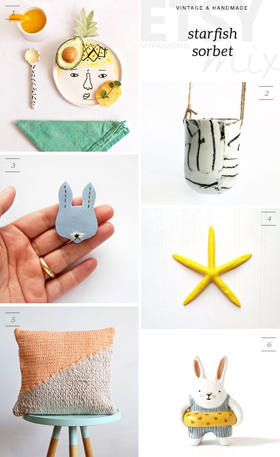 ETSY MIX: Starfish sorbet | My Paradissi