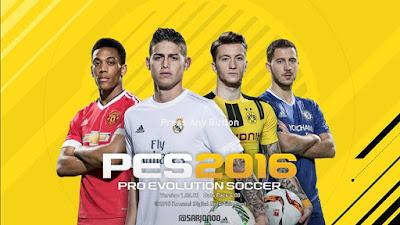 Menu FIFA 2017 untuk PES 2016