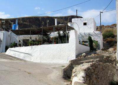 Casas blancas en Níjar