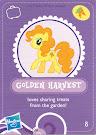 MLP Wave 3 Golden Harvest Blind Bag Card