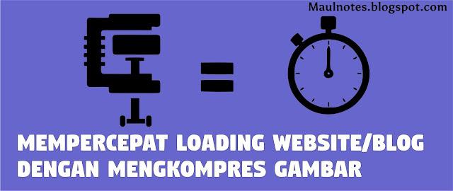 Maulnotes.blogspot.com-Mempercepat Loading Website/Blog Dengan Mengkompres Gambar