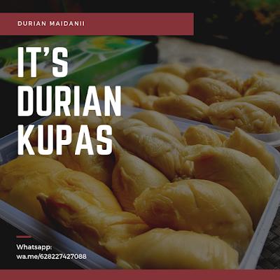 durian kupas terlegit