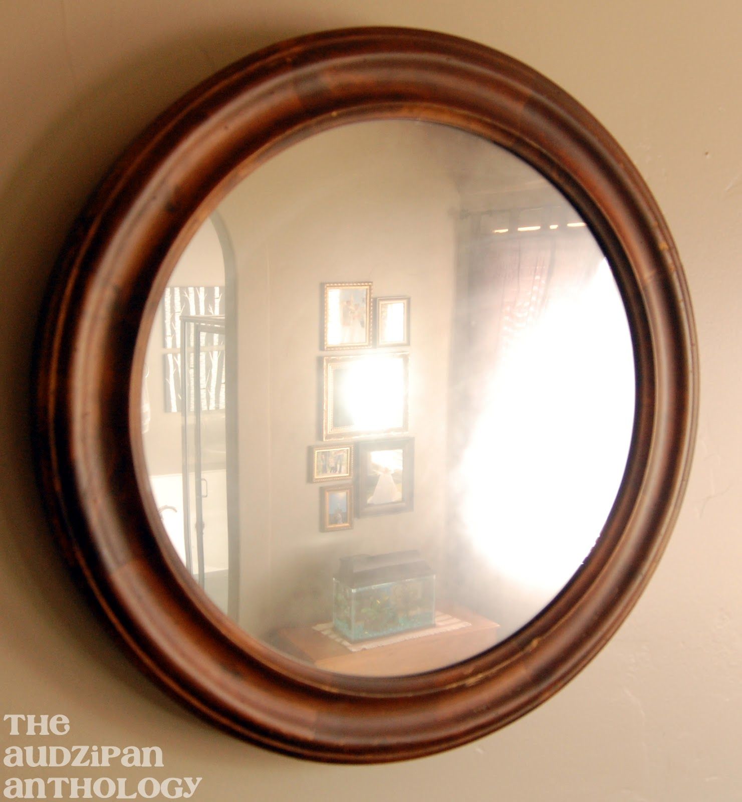 The Audzipan Anthology Diy Looking Glass Spray Paint Mirror