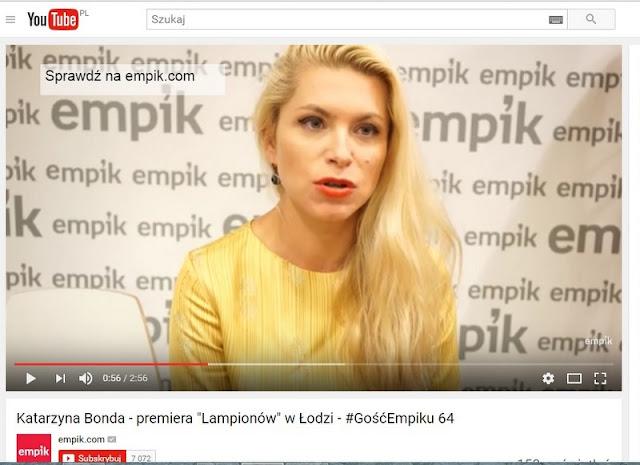 """Premiera """"Lampionów"""" w Łodzi, czyli film i kilka moich słów do kamery"""