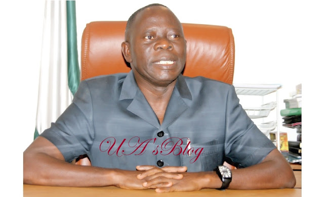 Oshiomhole reacts to Gov. Ortom's exit from APC
