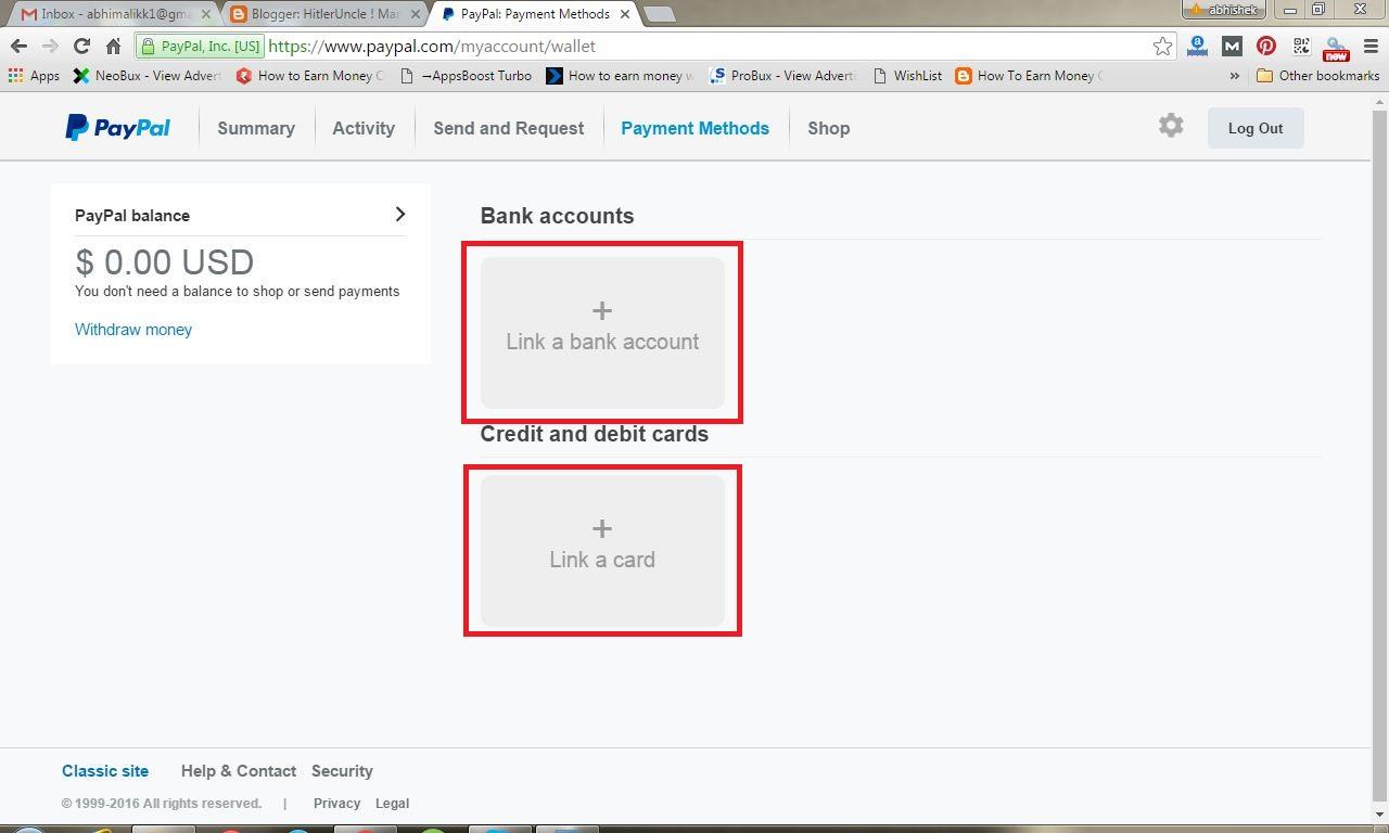 Easy Trick: Paypal Account kaise banaye aur kaise verify