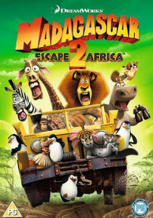 Madagascar Escape 2 Africa 2008 BRRip 300Mb Hindi Dual Audio 480p Watch Online Full Movie Download bolly4u