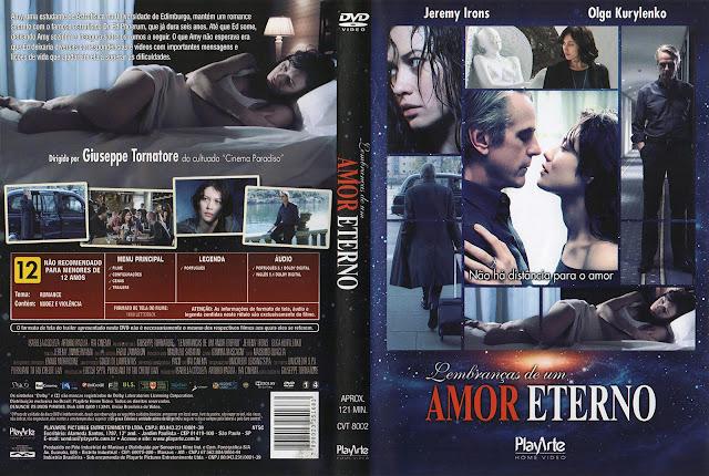 Capa DVD Lembranças de um Amor Eterno (Oficial)