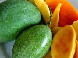 gambar kulit daging buah mangga