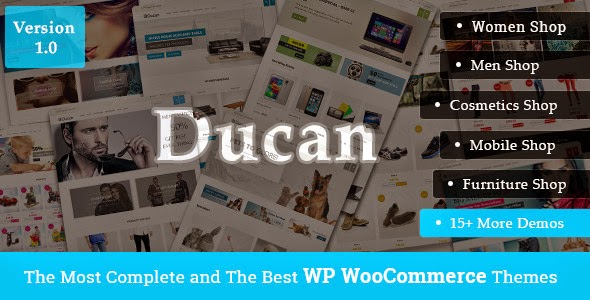 Ducan WordPress Theme