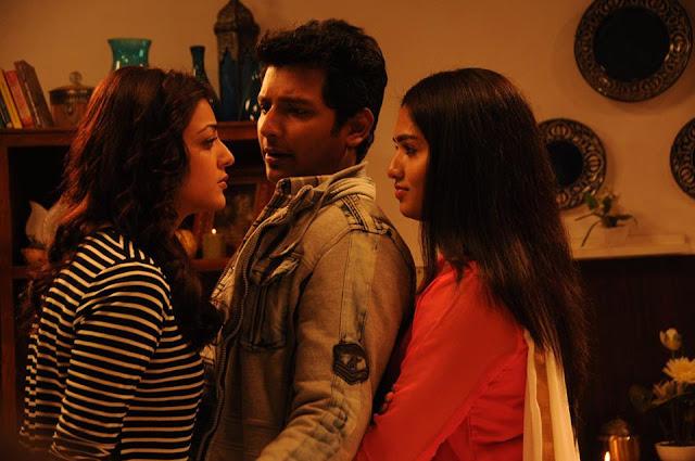 Sunaina stills from kavalai vendam tamil movie