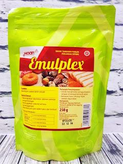 bahan tambahan perenyah roti emulplex