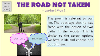 NCERT Solutions For Class 9 English Beehive The Road Not Taken (Poem)