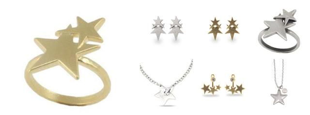 Danon star jewellery at Lizzy O