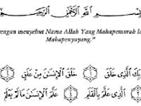 """Makna Tersembunyi Kata """"dengan"""" dalam Surat Al-Alaq Ayat 1"""