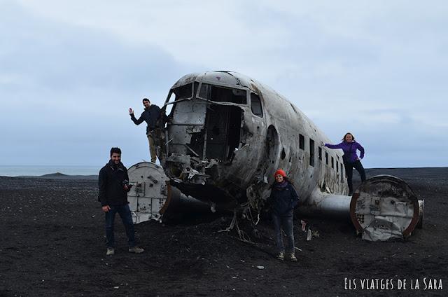 Dia 4 (II): Avió estavellat de Sólheimasandur, Dyrhólaey, Reynisfjara, Vík í Mýrdal...