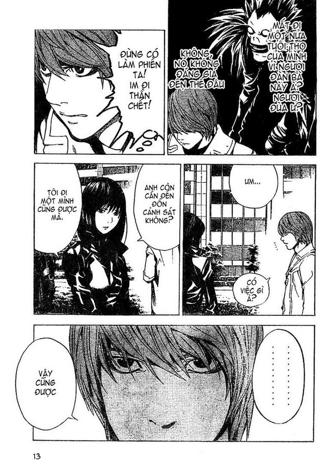 Death Note chapter 013 trang 13