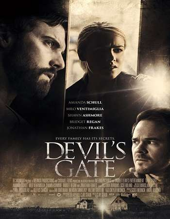 poster of movie Devil's Gate 2017 English 280MB Web-DL 480p