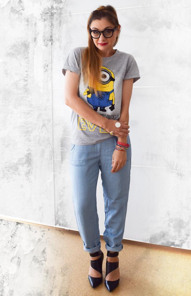 High Heels und Jeans