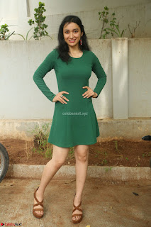 Sakshi Kakkar in a Beautiful Green Short Dress Spicy Pics HQ !  Exclusive
