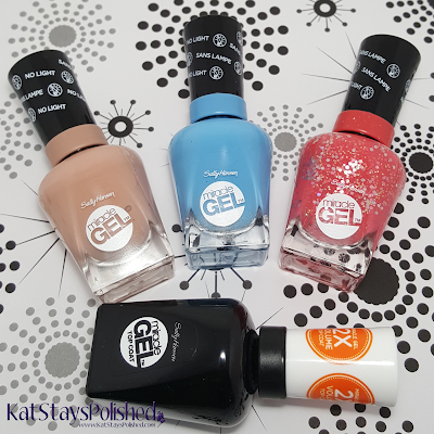 Sally Hansen Reformulated Miracle Gel | Kat Stays Polished