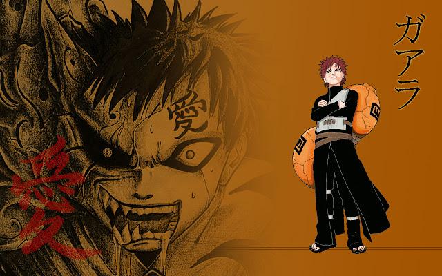 Naruto Karakter : Kumpulan Foto Gaara dan Fakta tentang Gaara