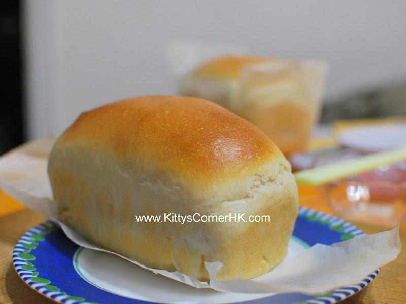 White Bread DIY recipe 咸方包 自家烘焙食譜