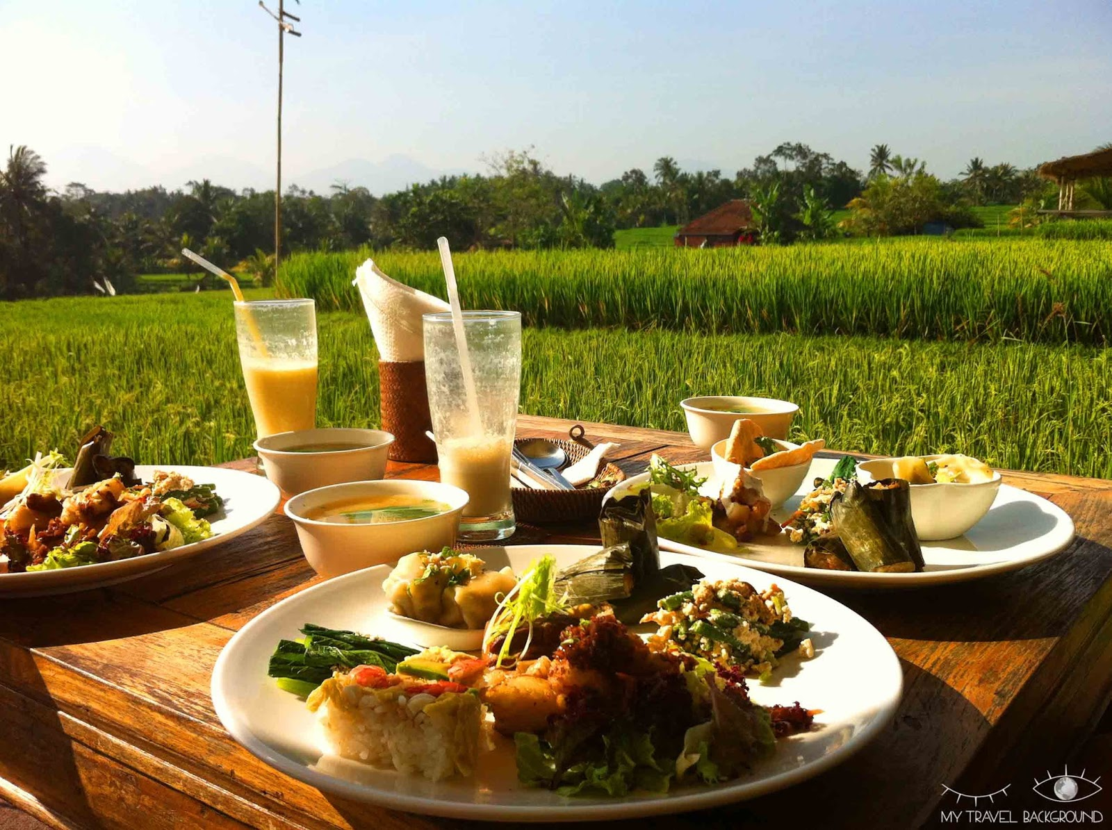 My Travel Background : Where To Bali et Gili T - Cafe Pomegranate à Ubud