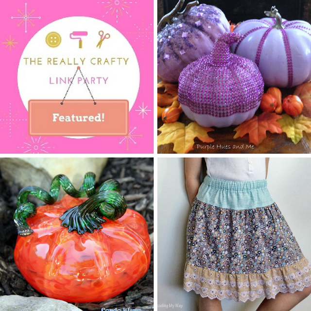 he Really Crafty Link Party #91 featured posts