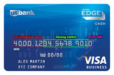 اعرف لغز الأرقام الموجودة على البطاقات الإئتمانية credit card