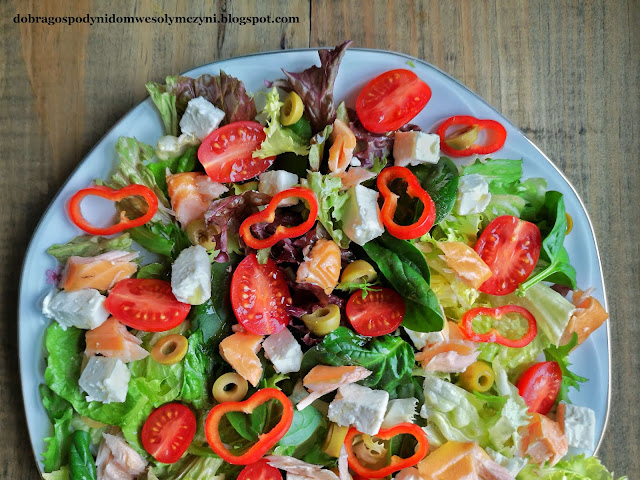 Sałatka dobrej gospodyni - na obiad, kolację lub Walentynki