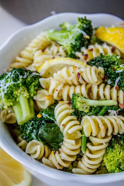 Easy peasy pasta