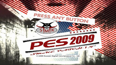 PES 2009 SMoKE Patch Season 2009/2010