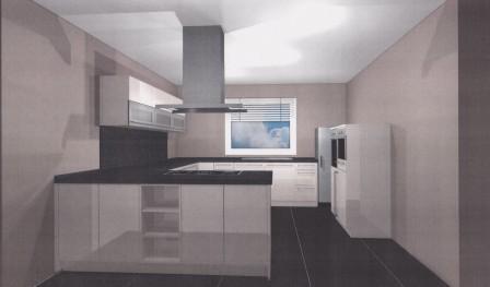 hausbau von mario diana neue k che. Black Bedroom Furniture Sets. Home Design Ideas