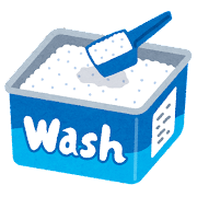 粉末洗剤のイラスト