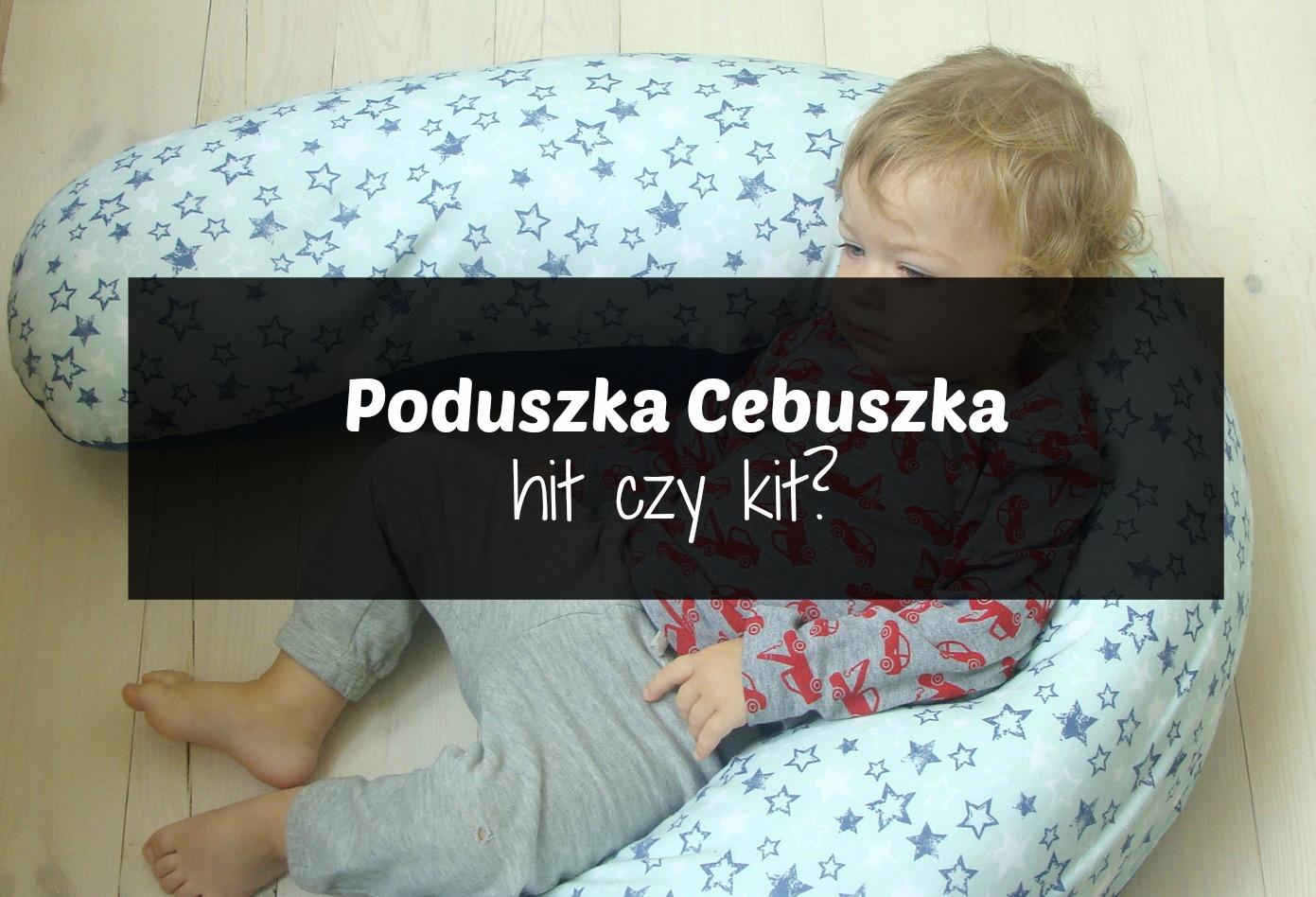 Poduszka Cebuszka