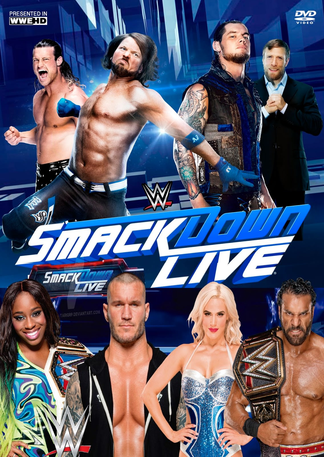 WWE Smackdown Live 9th October 2018 400MB HDRip 480p x264