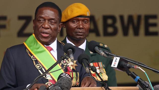 Rais Mpya wa Zimbabwe Alitaja Baraza Lake la Mawaziri Amteua Wakuu  wa Majeshi Kuwa Waziri