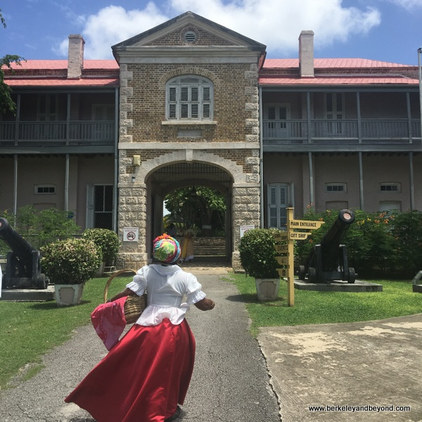 exterior of Barbados Museum & Historical Society in Barbados